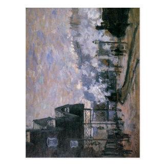 Claude Monet Saint-Lazare Station, the Western Reg Postcard