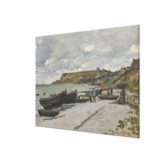 Claude Monet | Sainte-Adresse, 1867 Canvas Print