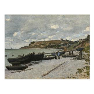 Claude Monet Sainte-Adresse Fine Art Postcard