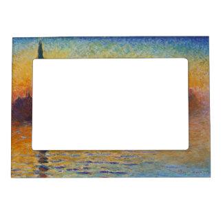 Claude Monet - San Giorgio Maggiore at Dusk Magnetic Frame