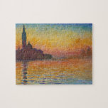 Claude Monet - San Giorgio Maggiore at Dusk Puzzles