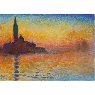 Claude Monet - San Giorgio Maggiore at Dusk Statuette