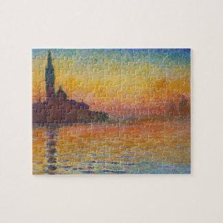 Claude Monet - San Jorge Maggiore en la oscuridad Puzzle Con Fotos