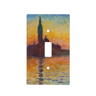 Claude Monet - San Jorge Maggiore en la oscuridad Tapa Para Interruptor