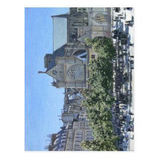 Claude Monet: Santo-Germán-l'Auxerrois París, 186 Postales