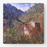 Claude Monet: Sasso Valley Wall Clock
