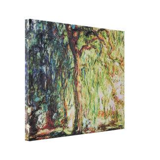 Claude Monet - sauce que llora Impresión En Lienzo