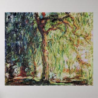 Claude Monet - sauce que llora Posters