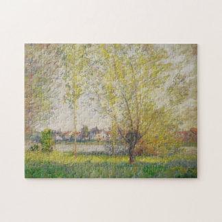 Claude Monet - sauces de Vetheuil Puzzle