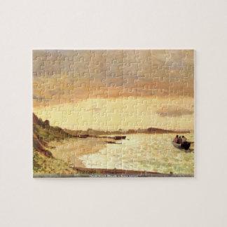 Claude Monet - Seaside at Sainte Adresse  puzzle