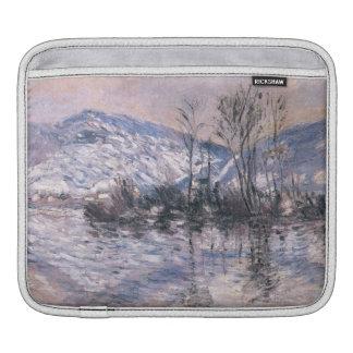 Claude Monet Seine at Port Villez, Snow GalleryHD iPad Sleeves
