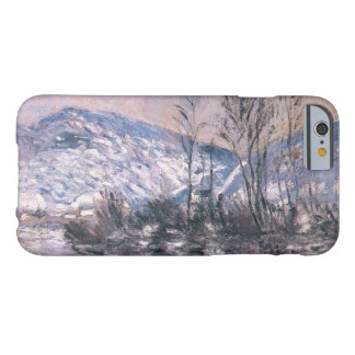 Claude Monet Seine at Port Villez w/Snow GalleryHD Barely There iPhone 6 Case