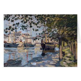 Claude Monet | Seine at Rouen, 1872 Card