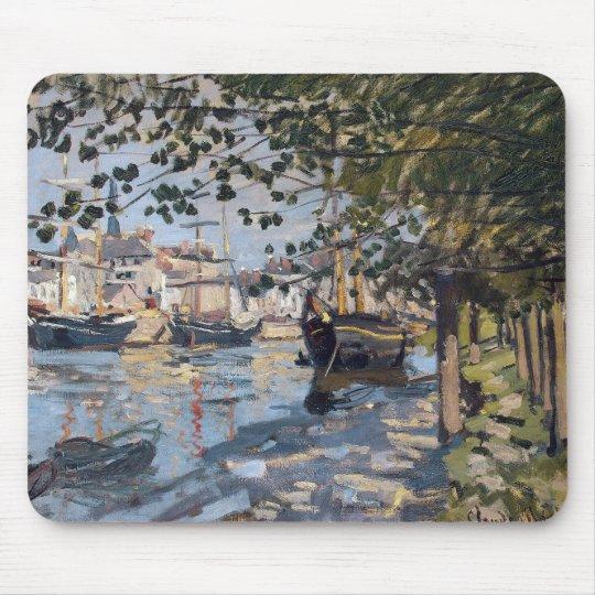 Claude Monet | Seine at Rouen, 1872 Mouse Pad