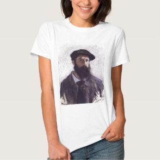 Claude Monet - Self-portrait in Beret 1886 T-shirts