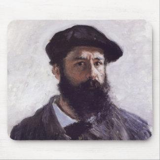 Claude Monet - Self-portrait in Beret Mouse Pad