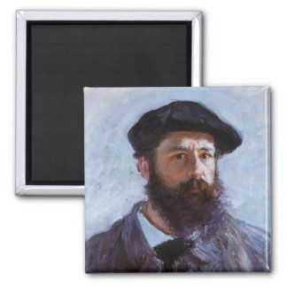 Claude Monet Self-Portrait Magnet