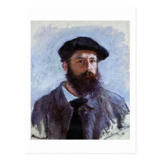 Claude Monet Self-Portrait postcard