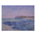 Claude Monet - Shadows on the Sea Poster