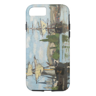Claude Monet | Ships Riding on the Seine at Rouen iPhone 7 Case