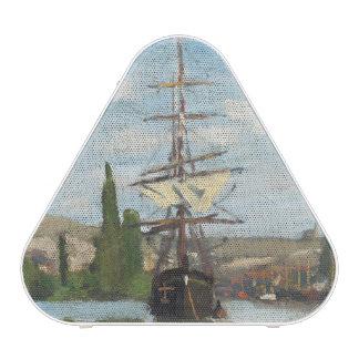 Claude Monet   Ships Riding on the Seine at Rouen Speaker