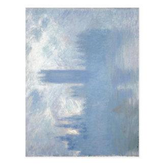 Claude Monet sin título, casas dobladas del parlam Tarjetas Postales