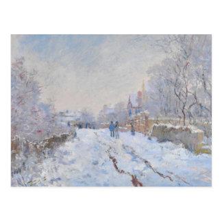 Claude Monet // Snow at Argenteuil Postcard