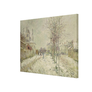 Claude Monet | Snow Effect Canvas Print