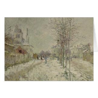 Claude Monet | Snow Effect Card