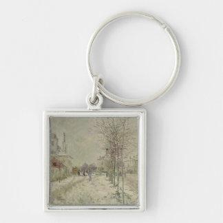 Claude Monet | Snow Effect Keychain