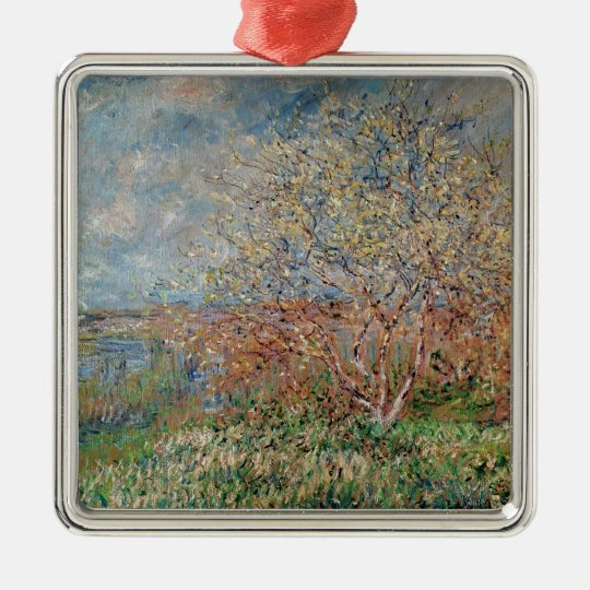 Claude Monet   Spring, 1880-82 Metal Ornament
