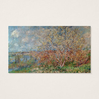 Claude Monet | Spring Business Card