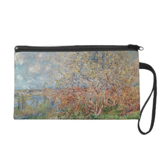 Claude Monet | Spring Wristlet Purse