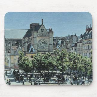 Claude Monet - St. Germain l'Auxerrois Mouse Pad