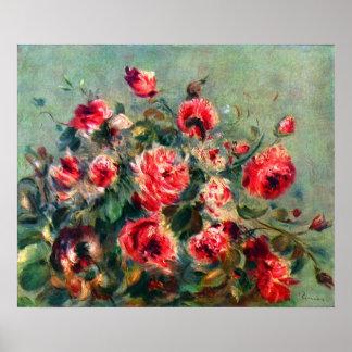 Claude Monet - Still life roses of Vargemont Poster