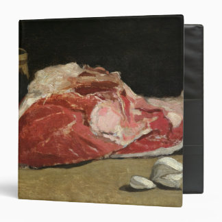 Claude Monet | Still Life, the Joint of Meat 3 Ring Binder