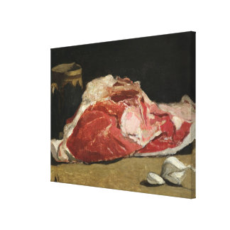 Claude Monet | Still Life, the Joint of Meat Canvas Print