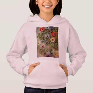 Claude Monet Still-Life with Anemone Destiny Gifts Hoodie