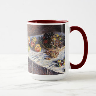 Claude Monet Still Life with Apples and Grapes Mug