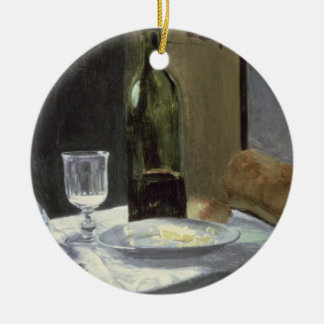 Claude Monet | Still Life with Bottles Ceramic Ornament