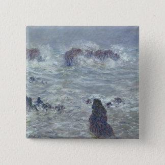 Claude Monet | Storm, off the Coast of Belle-Ile Button