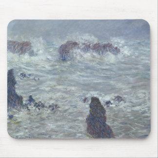Claude Monet | Storm, off the Coast of Belle-Ile Mouse Pad