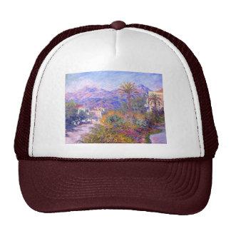 Claude Monet: Strada Romada en Bordighera Gorros