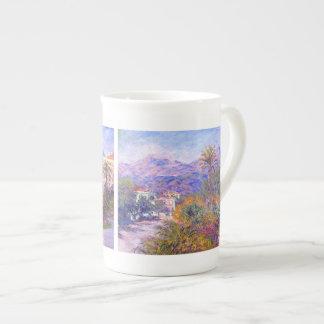 Claude Monet: Strada Romada en Bordighera Taza De Porcelana