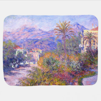 Claude Monet: Strada Romada in Bordighera Baby Blanket