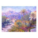 Claude Monet: Strada Romada in Bordighera Invitations