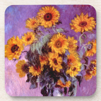 Claude Monet: Sunflowers Beverage Coaster