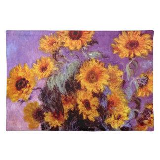 Claude Monet: Sunflowers Placemat