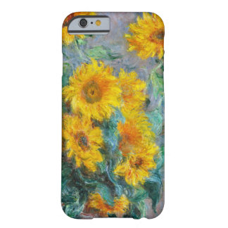 Claude Monet Sunflowers Vintage Floral Barely There iPhone 6 Case