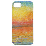 Claude Monet Sunset In Venice Cover For iPhone 5/5S